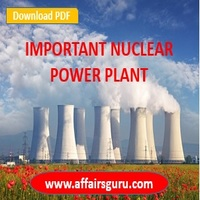 Important Nuclear Power Plant In India