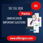 SSC CGL Simplification Important Questions