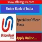 Union Bank of India Recritment Specialist Officer