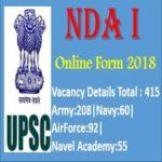 NDA 2018 Application Form