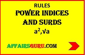 POWER INDICES AND SURDS