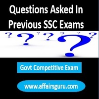 Question Asked in Previous SSC Exams
