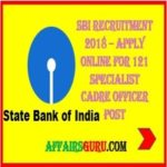 SBI SO 2018 Notification Out - Specialist Cadre Officers