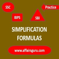 Simplification Formulas - AffairsGuru