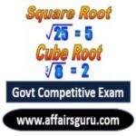 Square Root and Cube Root For Govt Exam