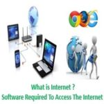 What is Internet and softwares required for Access It