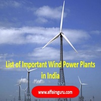 Wind Energy Power Plants in India