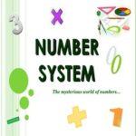 number system 2017-2018
