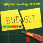 Highlights of Union Budget 2018-2019 By FM Arun Jaitley