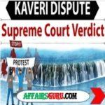 Kaveri Dispute - AffairsGuru