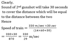 Time and distance - Qus 3rd Solution