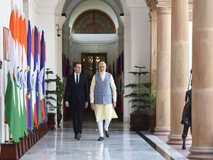 India, France sign pacts to boost cooperation in railways