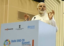 PM launches campaign to eradicate TB from India by 2025