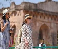 US lady in Madhya Pradesh