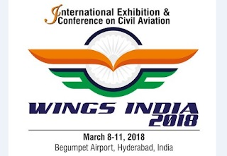 'Wings India 2018' Event Inaugurated In Hyderabad