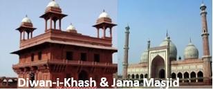 Diwan-i-Khash & Jama Masjid