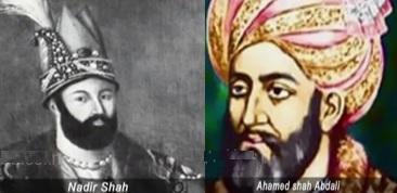 Nadir Shah & Ahamed Shah Abdali