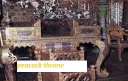 Peacock-throne