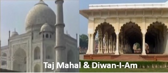 Taj Mahal & Diwan-I-Am