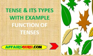 Tense And Its Types & Function With Examples