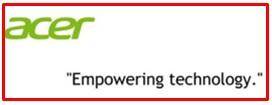 slogan of Acer
