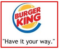 slogan of Burger King