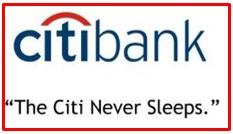slogan of Citibank