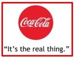 slogan of Coca-Cola