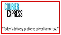 slogan of Courier Express