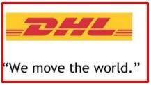 slogan of DHL