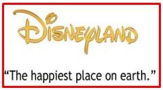 slogan of Disneyland