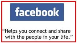 slogan of Facebook