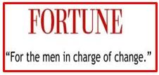 slogan of Fortune Magazine