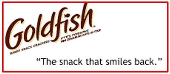 slogan of Goldfish