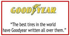 slogan of Goodyear