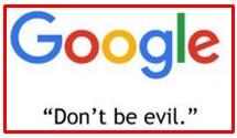 slogan of Google