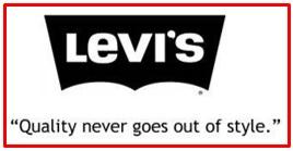 slogan of Levi's