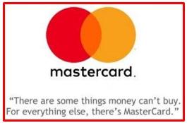 slogan of MasterCard