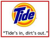 slogan of Tide