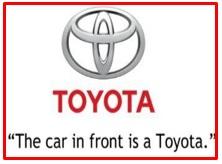 slogan of Toyota