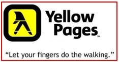 slogan of Yellow Pages