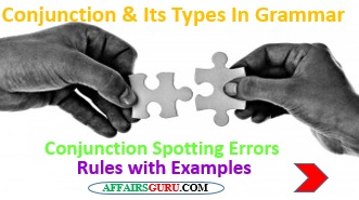 Conjunction & Its Types In English Grammar