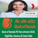 Bank of Baroda PO Recruitment - AffairsGuru