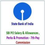 SBI PO Salary Structure -Allowance & Promotion