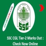 SSC CGL Tier-2 Marks Declared