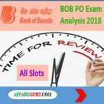 Bank of Baroda PO Exam Review - AffairsGuru