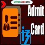IBPS RRB Admit Card For Pre-Exam Training AffairsGuru