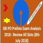 SBI PO Prelims Exam Analysis 2018 - AffairsGuru