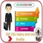 SSC CGL Salary and Job Profile