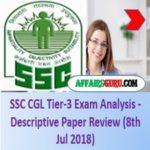 SSC CGL Tier-3 Exam Analysis